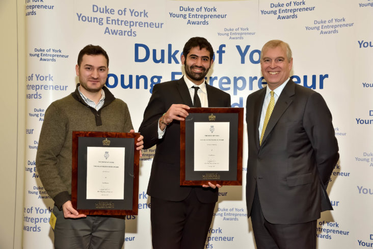 CurePharmawinthedukeofyorkyoungentrepreneurawards2017