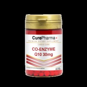 CurePharma CPC01 Co-Enzyme Q10 30mg