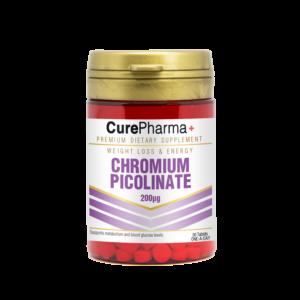 CurePharma CPE02 Chromium Picolinate 200mg – Weight loss