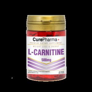 CurePharma CPE05 L-Cartinine 500mg Cap