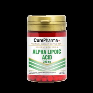 CurePharma CPG01 Alpha Lipoic Acid 200mg Tablet