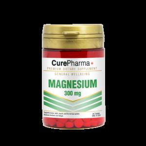 CurePharma CPG04 Magnesium 300mg Tablet