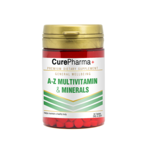 CurePharma CPG05 A-Z Multivitamin and Minerals tablets