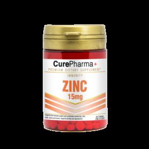 CurePharma CPI05 Zinc 15mg Tablets