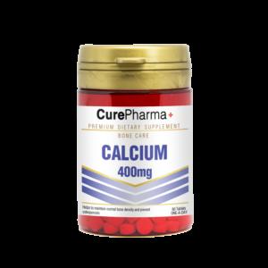 CurePharma CPJ09 Calcium 400mg Tablet