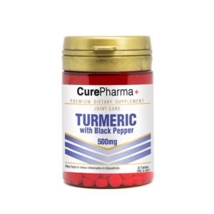 CurePharma CPJ11 Turmeric with Black Papper Tablet
